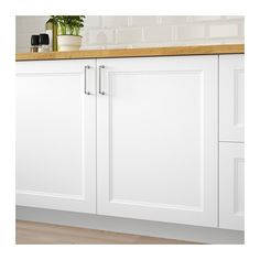 BODBYN Door, off-white, cm. BODBYN door has a frame and a bevelled panel that give it a distinct, traditional character. Creamy off-white brings a bright, warm touch to your kitchen. Modern Kitchen Cabinets, Kitchen Doors, Ikea Kitchen, Modern Kitchen Design, Kitchen Countertops, Kitchen Ideas, Basement Kitchen, Kitchen Redo, Kitchen Interior