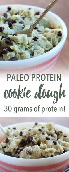 Paleo protein cookie dough | Empowered Sustenance
