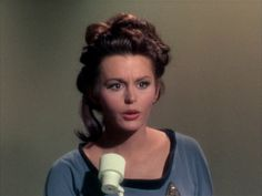 "Star Trek 1 x 8 ""Dagger of the Mind"" Marianna Hill as Dr Helen Noel Star Trek 1966, Star Trek Tos, Star Trek Original, Marianna Hill, Star Trek Movies, William Shatner, Star Trek Enterprise, Love Stars, Female Characters"