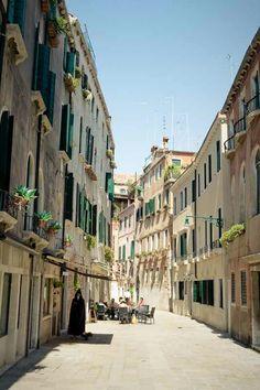 Street Cafe in Venice by Peter Kirilov Beauty Around The World, Places Around The World, Around The Worlds, Places To Travel, Places To See, Rome Streets, Venice Italy, Italy Italy, Italy Trip