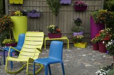 Der Weg zu meinem eigenen Terrassengarten #affektblog #Terrassengarten #garten Large Backyard Landscaping, Small Backyard Design, Backyard Patio, Backyard Ideas, Garden Ideas, Garden Furniture, Outdoor Furniture Sets, Grands Pots, Urban Gardening