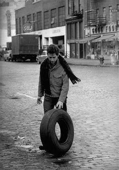 Bob Dylan, New York City, 1963 Photographed by Jim Marshall