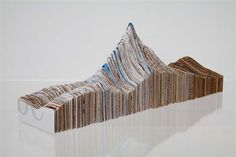 Maya Lin Small Recycled Landscape 2007 Land Art  She  is an American designer and artist who is known for her work in sculpture and land art.