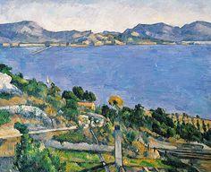 Vue de la Baie de Marseille ~ Paul Cezanne