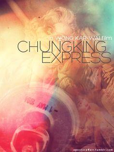 Chungking Express (1994) Director: Wong Kar-Wai, with Brigitte Lin, Tony Leung Chiu Wai, Faye Wong, Takeshi Kaneshiro