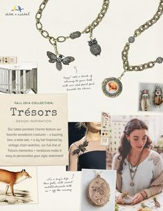 Fall Trésors Collection Inspiration. The detailing is amazing and I love layering up jewelry-it's a fab fall look! www.candibykristin.com #chloeandisabel #jewelry #tresors