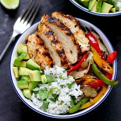 This Cajun Chicken with Coriander and Lime Rice is packed with juicy griddled Cajun chicken with veggies and rice – ready in 30 minutes!