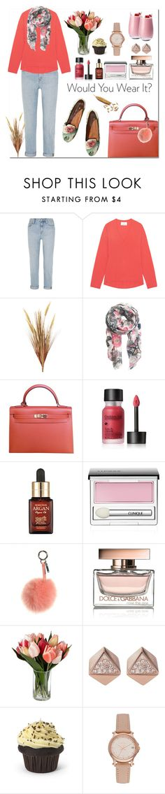"""""""Zlatni dvori srca mog"""" by hancicaf on Polyvore featuring Madewell, Allude, H&M, Hermès, Clinique, Fendi, Dolce&Gabbana, FOSSIL, Relic and Denby"""
