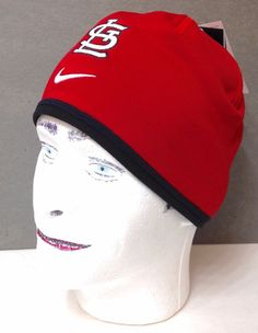 1b69a26644a7f  30 Nike®Dri-Fit ST LOUIS CARDINALS SKULL CAP BEANIE Dry Athletic Winter  Hat Men  Nike  StLouisCardinals