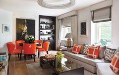 Love this for my living room! Wide Plank Flooring, Engineered Wood Floors, Oak Flooring, Living Room Colors, Living Room Grey, Luxury Interior, Decor Interior Design, Beautiful Houses Interior, Living Room Flooring