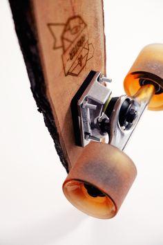 Wooden Skateboard by Sven Gabriel on www.inspiration-now.com