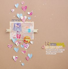 #papercrafting #scrabooking #layouts - by Tami G