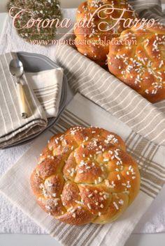 Corone dolci al Farro facili facili ma d'effetto! #brioches #colazione