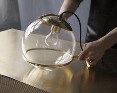 Handle Studio   Brass wall lamp - ART DECO 11 250x250x400 mm, 1 lamp E27