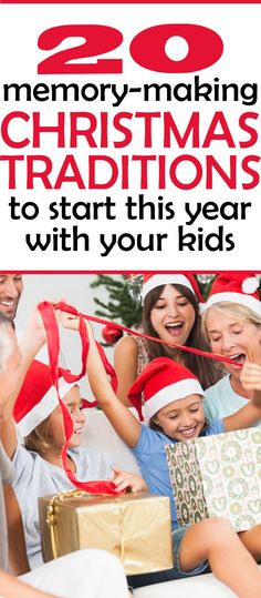 I love these unique Christmas  traditions!!!  I can't WAIT to start doing these with my kids, especially number 11.