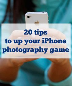 20 Tips To Up Your iPhone Photography Game; This is a fun article about how to take better ig pics. It's very reflective of the style of todays youth. Lists, apps, photos, and social media... this article has all that.