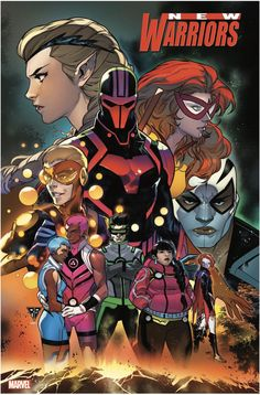Three New Series From Marvel - Champions, New Warriors And Power Pack Marvel Comics, Marvel Art, Marvel Heroes, Marvel Characters, New Warriors, Goth Kids, Warrior 1, Young Avengers, Marvel Universe