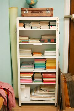 And shelves/cabinets like this make me think perhaps I ought to shun painting mine for a while longer.