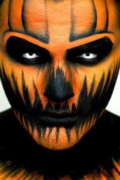 {Scary pumpkin}  #halloween #jackolantern