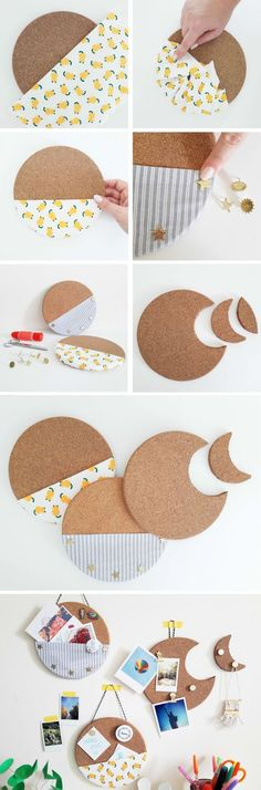 Make the best use of your creativity with these brilliant craft projects. Immediately try this Easy DIY Holiday Crafts! Home Crafts, Diy And Crafts, Arts And Crafts, Easy Crafts, Diy Décoration, Easy Diy, Diy Rangement, Diy Y Manualidades, Ideias Diy