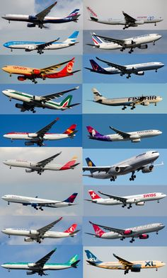 Airbus A330 Liveries of JFK