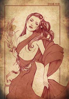 Demeter by Dorotea Gizzi