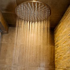 TE620 Ceiling mounted rain shower head with extension pipe - modern - showers - vancouver - Blu Bathworks