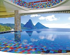 excellent example of a resort pool hope this help with design ideas for your swimming pool?