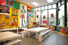 35 ideas kids art studio design playrooms for 2019 Classroom Design, Classroom Fun, Art Studio Design, Design Art, Classe D'art, Kids Studio, Studio Ideas, Studio Organization, Studio Interior