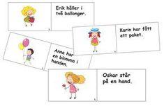 Ordkort - tema vanliga ord Teacher Education, School Teacher, Special Education, Learn Swedish, Swedish Language, Autism, Little Ones, Honda, Teaching