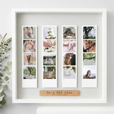 Looking for the perfect wedding gift. Then our Personalised Wedding Framed Photo Booth Print may be just what you are looking for. Wedding Prints, Wedding Frames, Ikea Wedding, Wedding Rustic, Gift Wedding, Wedding Vows, Wedding Ideas, Photo Souvenir, Personalised Prints