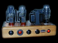 Tube amplifiers & vintage hi-fi
