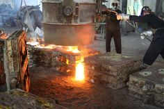 Order Grey Iron castings online. We offer the Lowest cost per Kilo of castings online. Casting - Grey Iron adhering to American standard A48/20, German through online with sketch @ www.steelsparrow.com