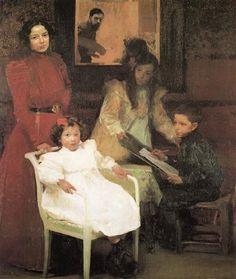 My Family - Joaquín Sorolla -- Completion Date: 1901