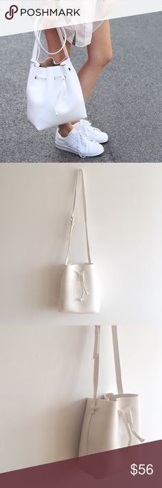 Bucket Bag Product is in photos #2-4 // brand new // faux leather// no trades Bags