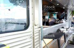 モバイルフードトラック ロイヤリティフリーストックフォト