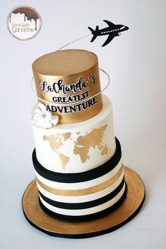 travel cake 40th Cake, 18th Birthday Cake, Gun Cakes, First Communion Cakes, Travel Cake, Paris Cakes, Horse Cake, Book Cakes, Character Cakes