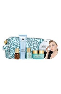 Estée Lauder 'Even Skin Tone Solutions' Skincare Travel Set with DVD by Estee Lauder. $109.99. Estée Lauder. Discover your complete Even Skintone Solutions regimen to help correct uneven skintone and prevent future discolorations.  The limited time collection includes: DayWear Advanced Multi-Protection Anti-Oxidant Crème SPF 15 (1.7 oz.), Idealist Even Skintone Illuminator (0.5 oz.), Advanced Night Repair Synchronized Recovery Complex (0.24 oz.), Perfectly Clean Splash Awa...