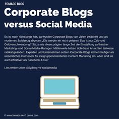 #corporateblog #socialmedia #fomaco