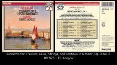 Vivaldi - L'estro Armonico - 12 Concertos Op. 3 - I Musici - Roberto Mic...