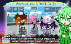 Download & Install - Gacha Studio (Anime Dress Up) Varies with device Apk Cute Games, Best Games, Create Your Own Anime, Zoom Cloud Meetings, Pet Max, Text Bubble, Avatar Maker, Latest Anime, Anime Dress