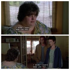 When Becky and Mama meet- What's Eating Gilbert Grape