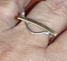 Zilver-goud ring okt 2013