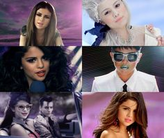 Selena Gomez different clothes for different scenes of love you like a love song