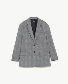 Image 8 of CHECKED BLAZER from Zara