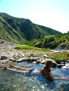 Barth Hot Springs | Main Salmon, Idaho, USA