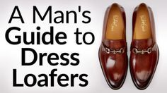 What to Wear With Men's Dress Loafers