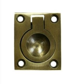 Deltana Flush Ring Pulls, Solid Brass, 1 X 1 (lifetime polished brass) Pocket Door Hardware, Home Hardware, Polished Brass, Solid Brass, Woodworking Essentials, Kitchen Cabinet Pulls, Cabinet Knobs, Flush Doors, Drawer Pulls