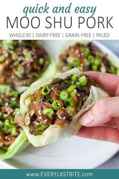Whole 30 Diet, Paleo Whole 30, Whole 30 Recipes, Pork Recipes, Paleo Recipes, Asian Recipes, Dinner Recipes, Cooking Recipes, Whole Foods