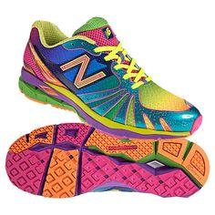 New Balance limited edition rainbow shoes -